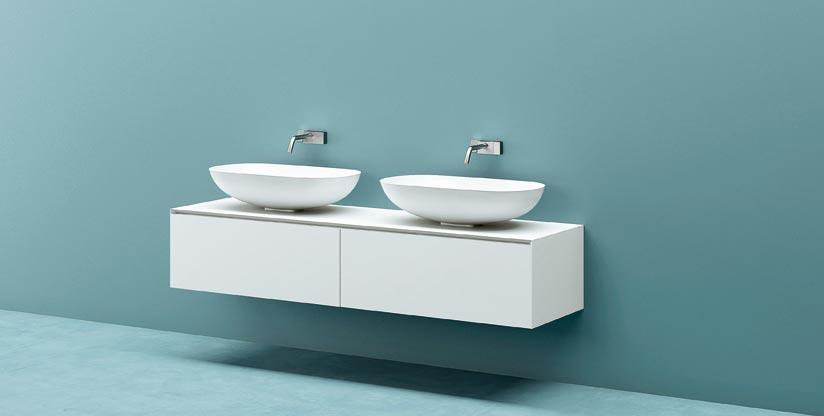 Vasche Da Bagno Apertura Laterale Misure : Mobile in corian su misura mobile bagno in corian infinity 1