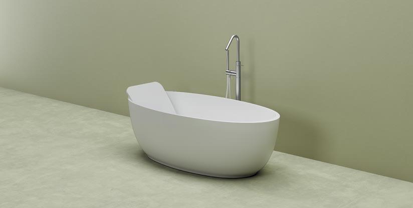 Dimensioni Di Una Vasca Da Bagno : Vasca da bagno piccola di forma ovale planit